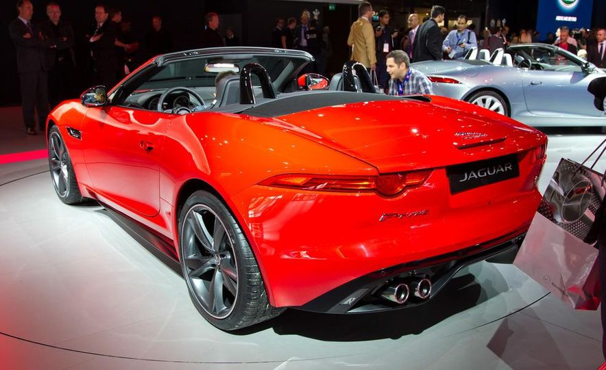 2014 Jaguar F-type V8 S roadster - Slide 6