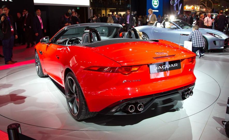 2014 Jaguar F-type V8 S roadster - Slide 7