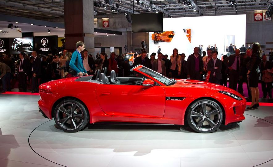2014 Jaguar F-type V8 S roadster - Slide 10