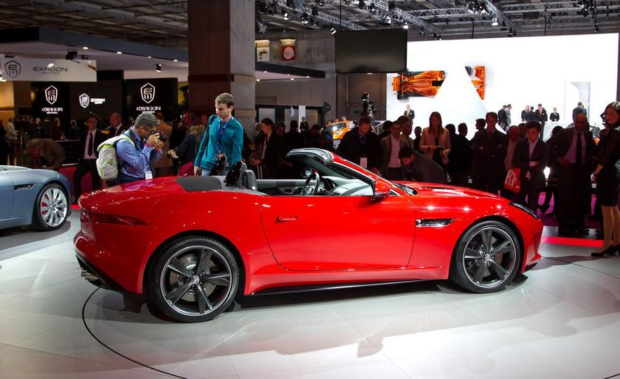 2014 Jaguar F-type V8 S roadster - Slide 11