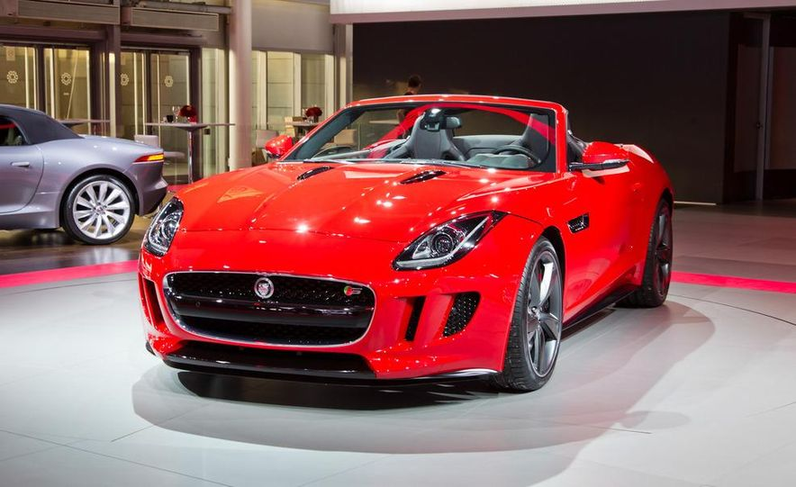 2014 Jaguar F-type V8 S roadster - Slide 13