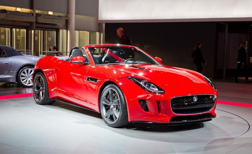 2014 Jaguar F-type V8 S roadster - Slide 16