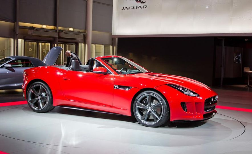 2014 Jaguar F-type V8 S roadster - Slide 17