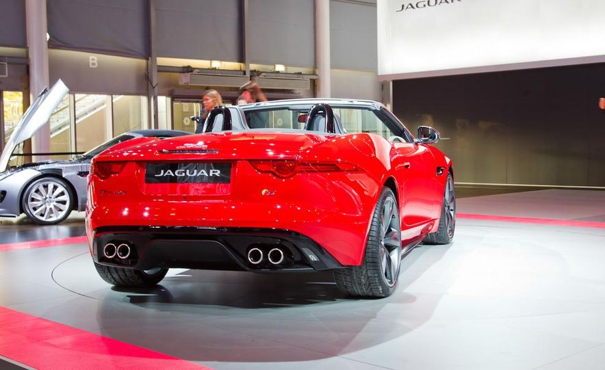 2014 Jaguar F-type V8 S roadster - Slide 20