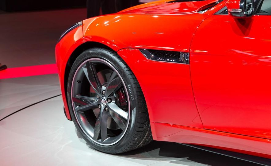 2014 Jaguar F-type V8 S roadster - Slide 21