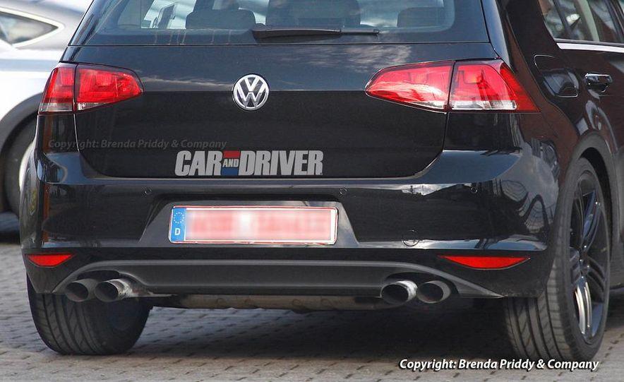 2015 Volkswagen Golf R 5-door (spy photo) - Slide 6