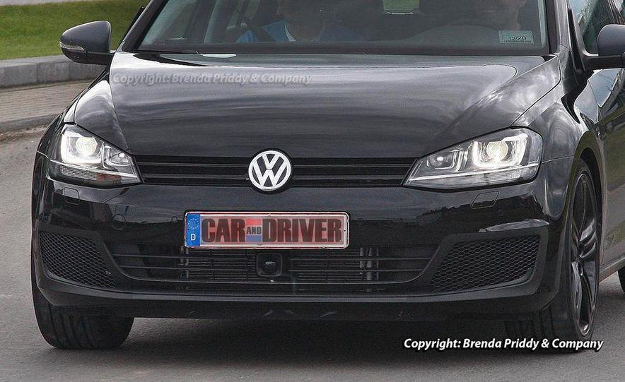 2015 Volkswagen Golf R 5-door (spy photo) - Slide 7