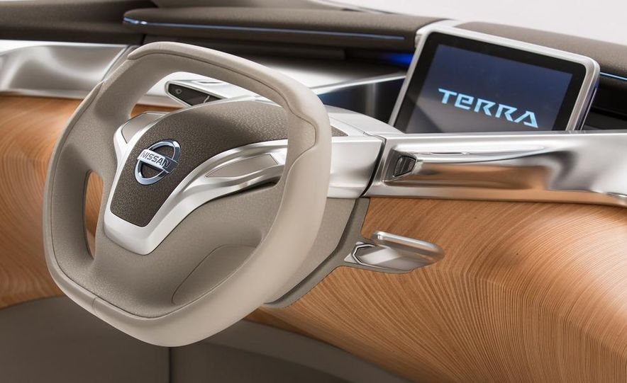 Nissan TeRRa concept - Slide 8