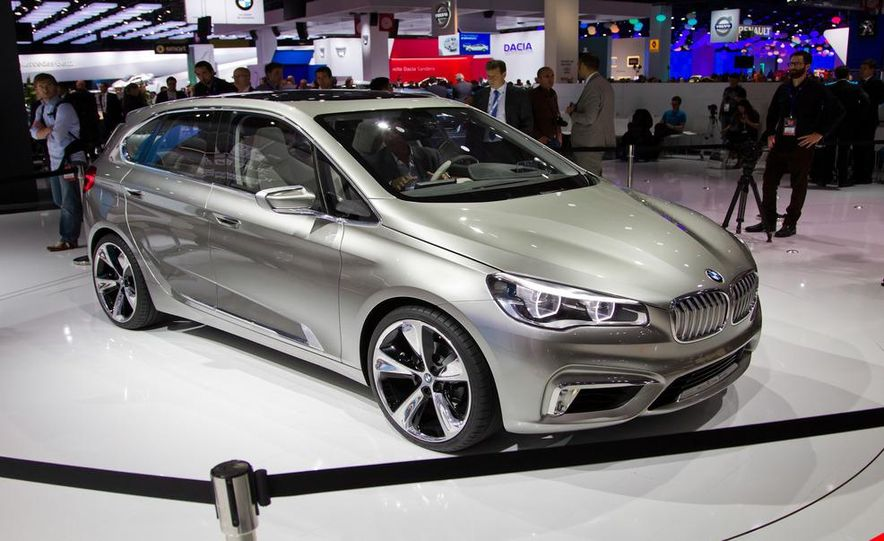 BMW Concept Active Tourer eDrive - Slide 1
