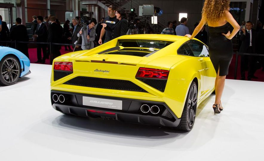 2013 Lamborghini Gallardo LP 560-4 coupe - Slide 7