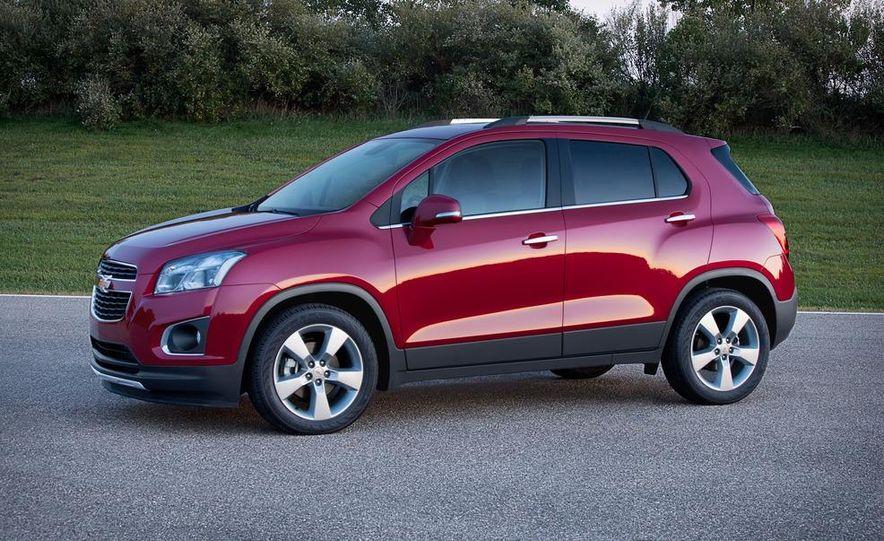 2013 Chevrolet Trax - Slide 36