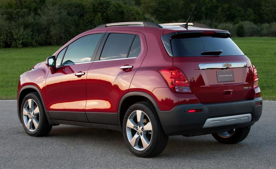 2013 Chevrolet Trax - Slide 37