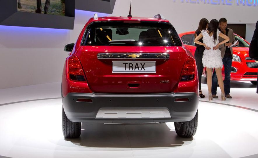 2013 Chevrolet Trax - Slide 10