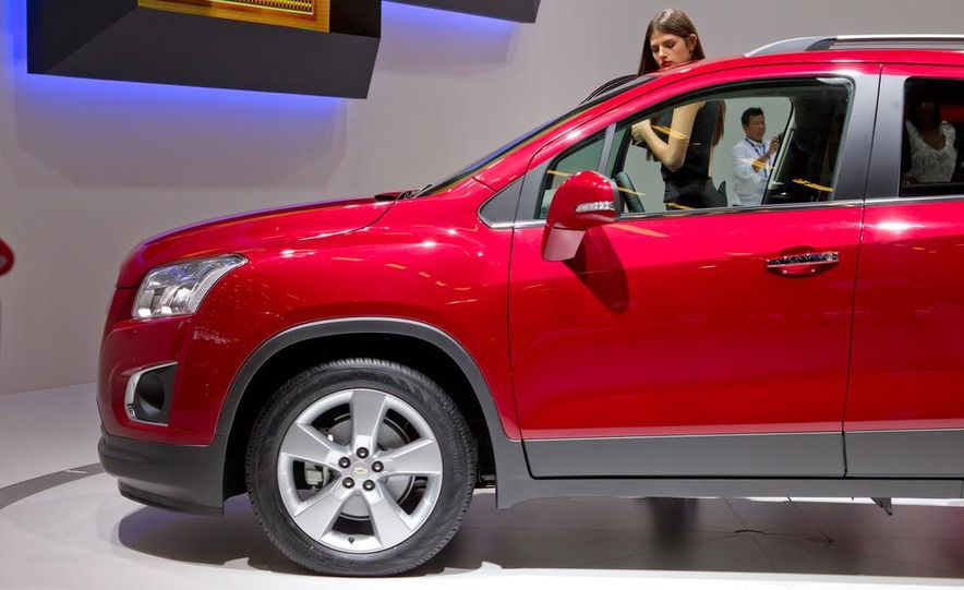 2013 Chevrolet Trax - Slide 13