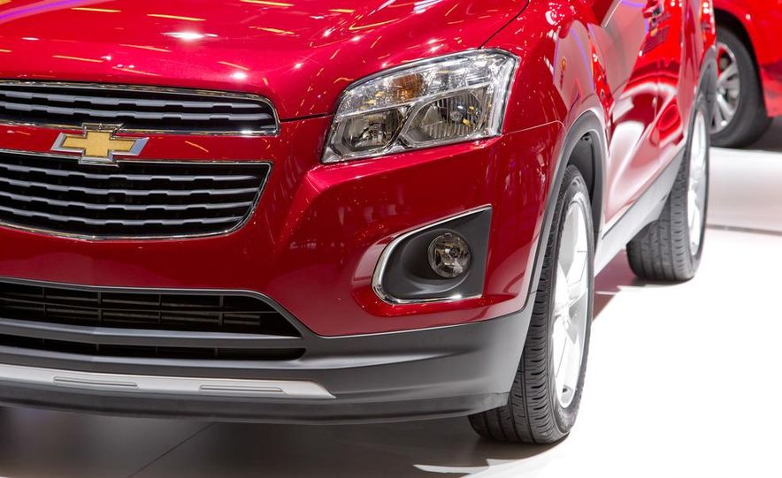 2013 Chevrolet Trax - Slide 15
