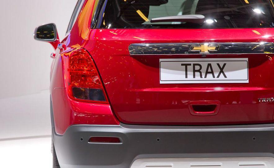 2013 Chevrolet Trax - Slide 18