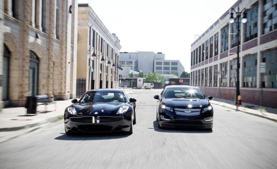 2012 Fisker Karma EcoSport and 2012 Chevrolet Volt - Slide 1