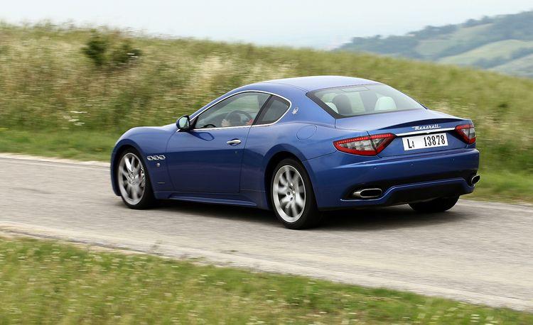 2013 Maserati GranTurismo Sport Coupe and Convertible