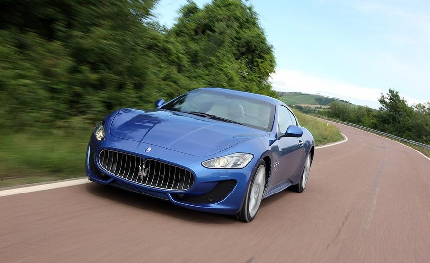 2013 Maserati GranTurismo Sport - Slide 12
