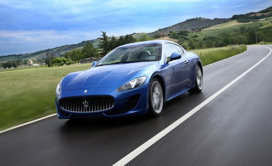 2013 Maserati GranTurismo Sport - Slide 15