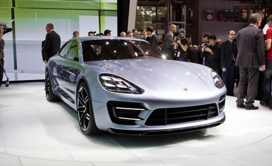 Porsche Panamera Sport Turismo Wagon concept - Slide 1