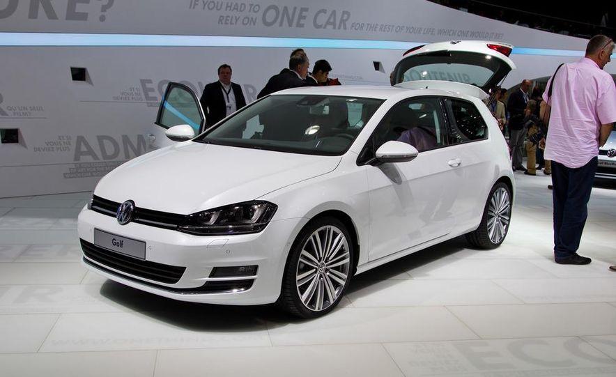 2014 Volkswagen Golf BlueMotion 3-door concept - Slide 20