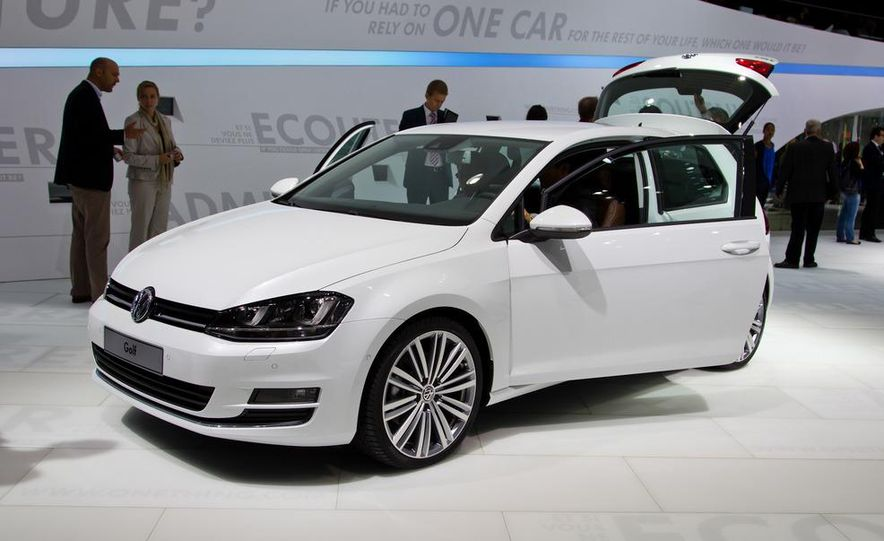 2014 Volkswagen Golf BlueMotion 3-door concept - Slide 22