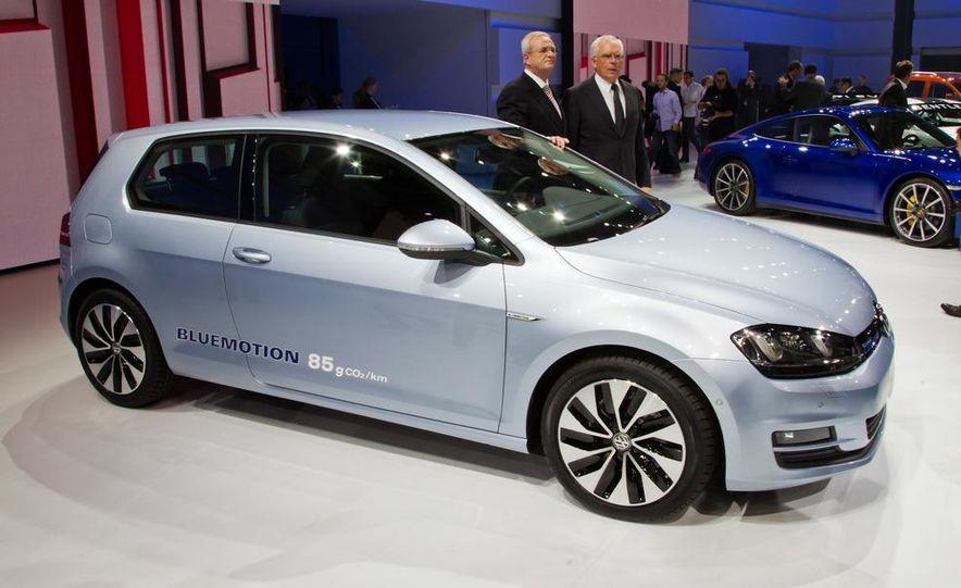 2014 Volkswagen Golf BlueMotion 3-door concept - Slide 2