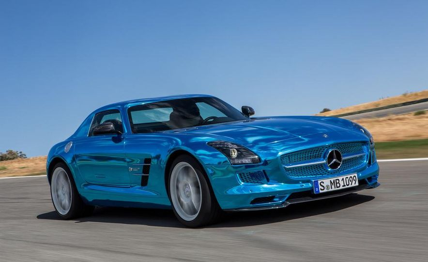 2014 Mercedes-Benz SLS AMG Electric Drive - Slide 21