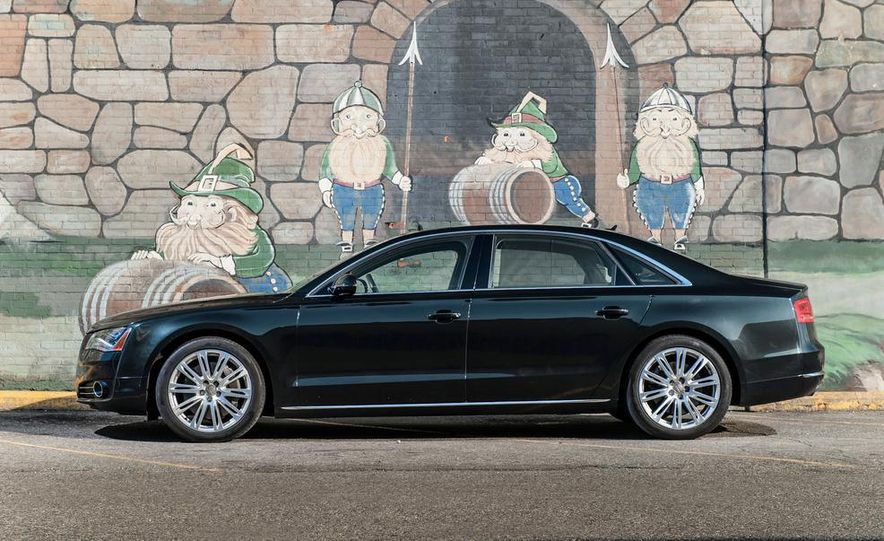 2012 Audi A8L 4.2 FSI Quattro - Slide 38