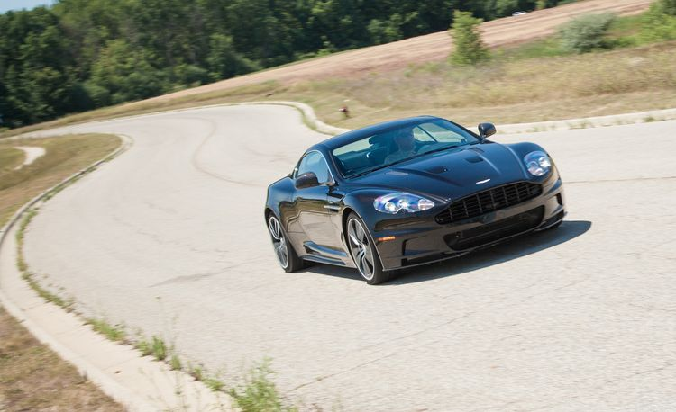 2012 Aston Martin DBS Carbon Black Edition