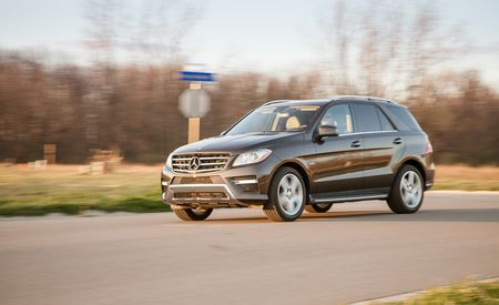 2012 Mercedes-Benz ML550 4MATIC