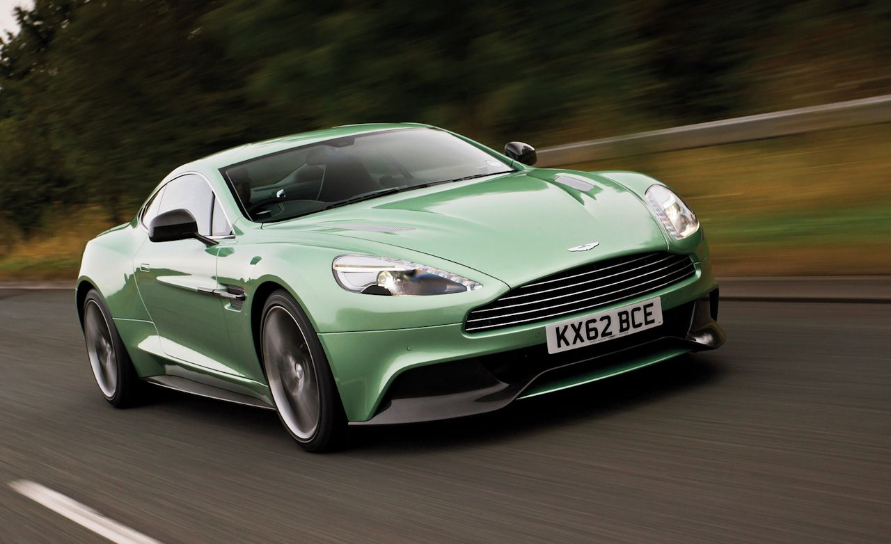2013 Aston Martin Vanquish First Drive Review Car And Driver