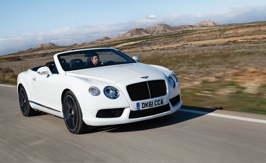 2013 Bentley Continental Gtc V8 Test Review Car And Driver