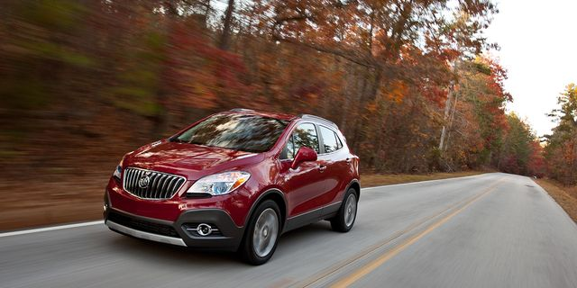 2013 buick encore first drive – review – car and driver