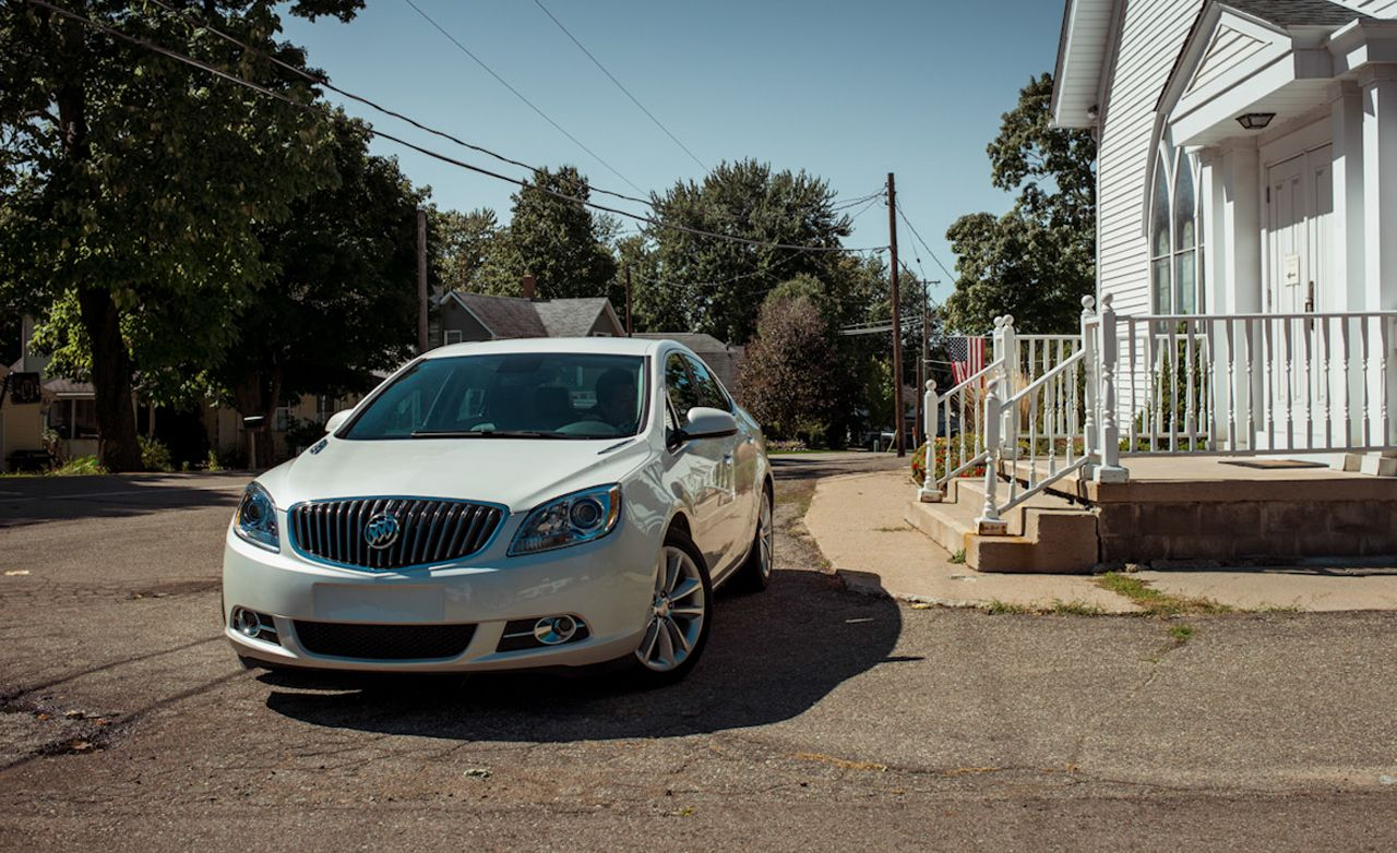 2013 Buick Verano Turbo Manual