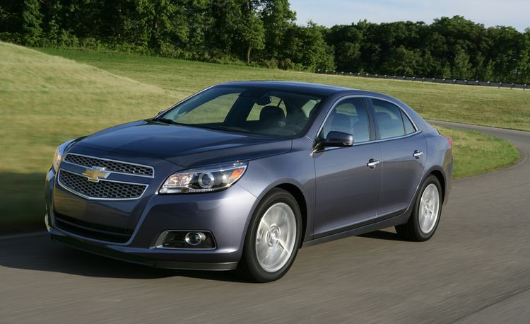 2013 Chevrolet Malibu 2.0L Turbo