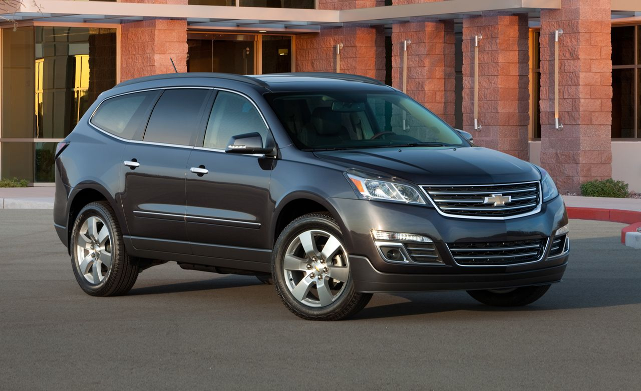 2013 Chevrolet Traverse First Drive Review Car And Driver