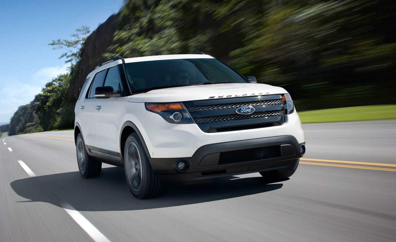 2013 ford explorer sport first drive review car and driver