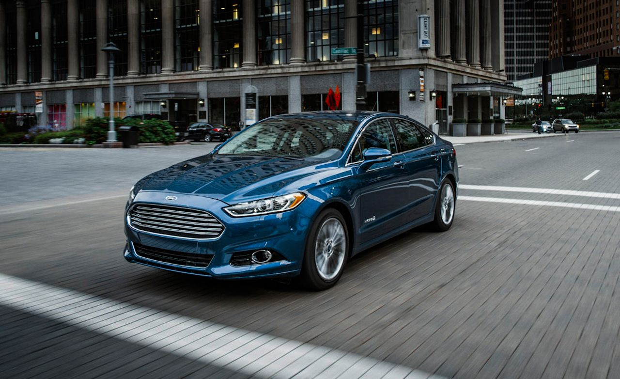 2013 Ford Fusion Hybrid Road Test Review Car And Driver