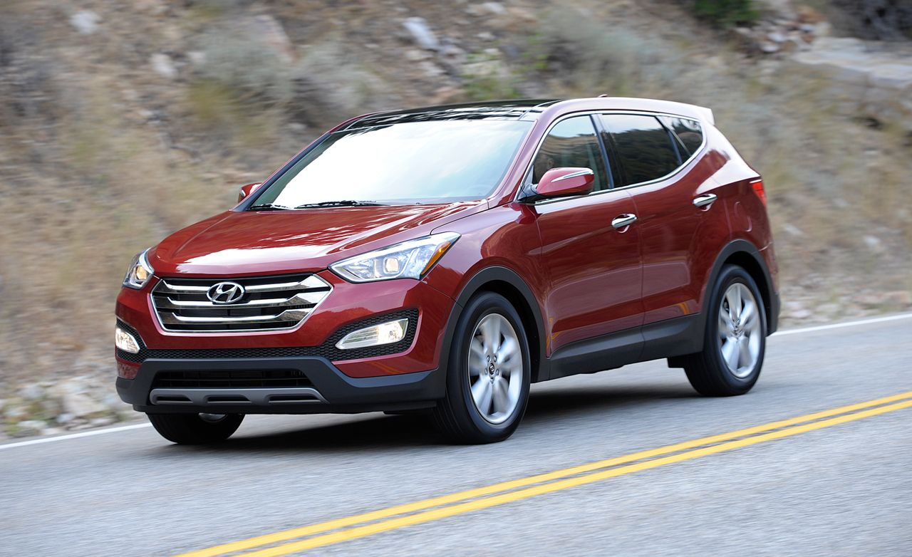 2013 Hyundai Santa Fe Sport Test Review Car And Driver Engine Diagram