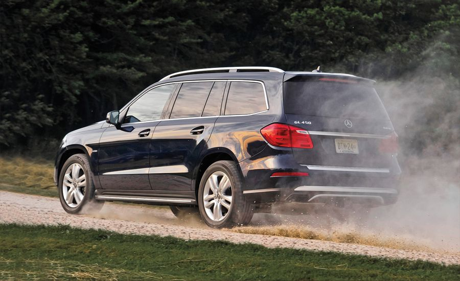 2013 mercedes benz gl450 test review car and driver for Mercedes benz gls 450 review