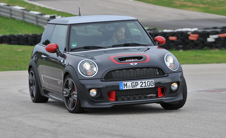 2013 mini john cooper works gp first drive review car and driver. Black Bedroom Furniture Sets. Home Design Ideas