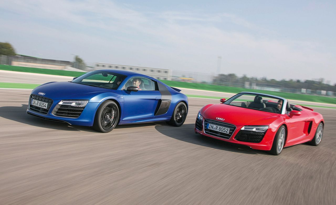 2014 audi r8 first drive – review – car and driver