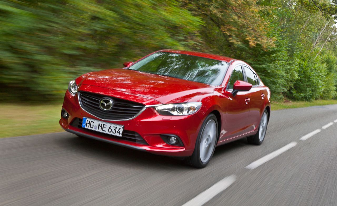 2014 mazda 6 sedan first drive review car and driver. Black Bedroom Furniture Sets. Home Design Ideas