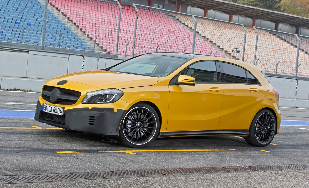 2014 MercedesBenz A45 AMG First Ride  Review  Car and Driver