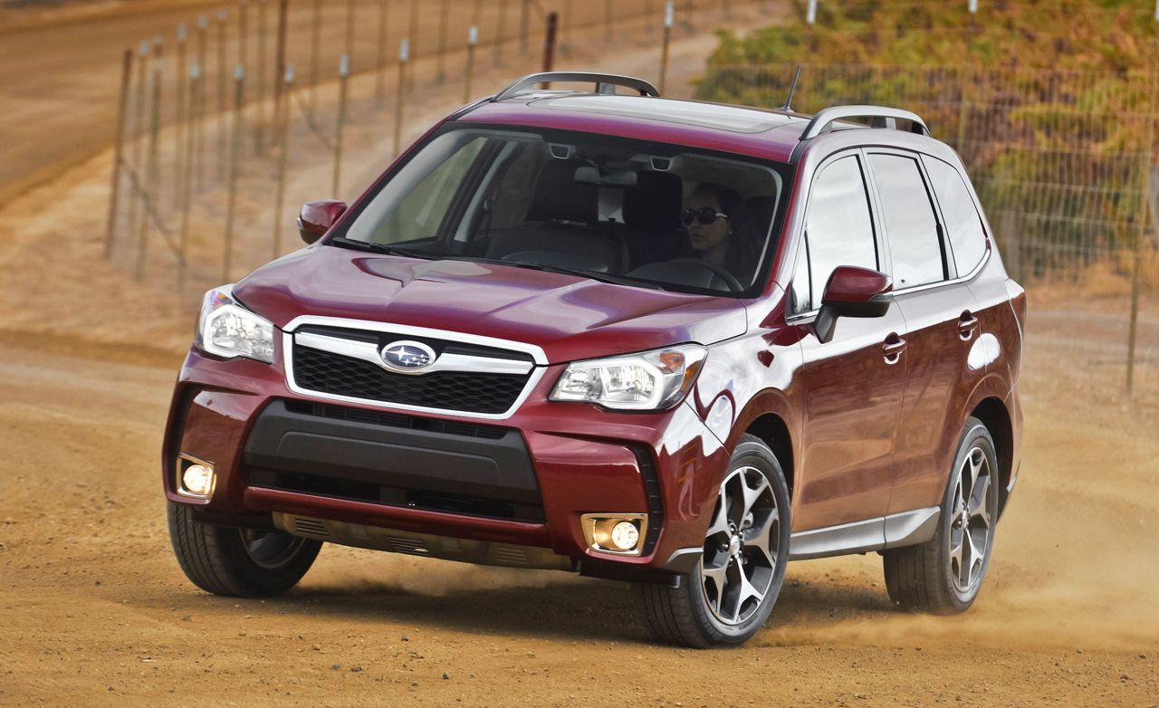 2014 subaru forester first drive – review – car and driver