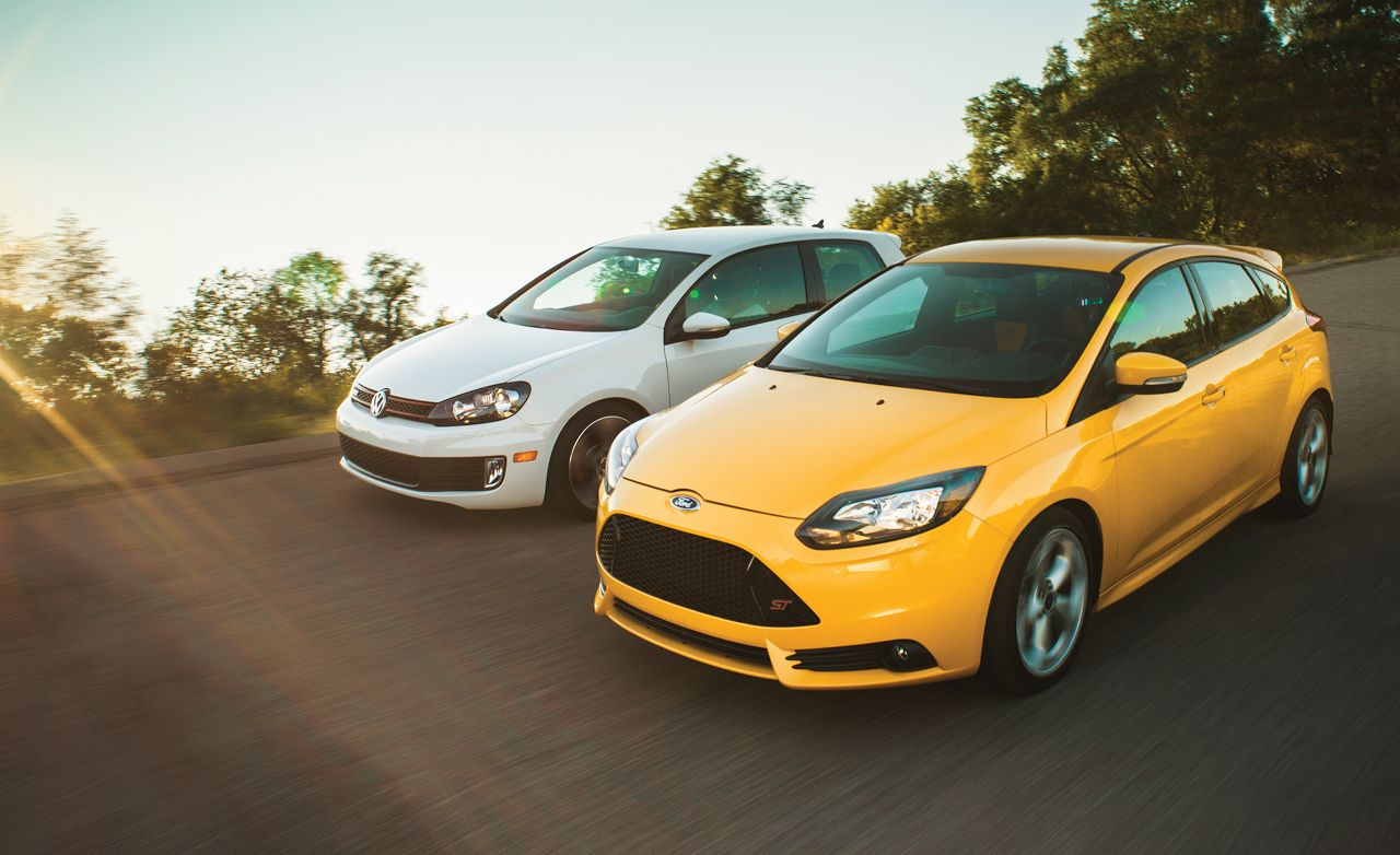 St Charles Hyundai >> 2013 Ford Focus St Vs 2012 Volkswagen Gti Comparison | Autos Post