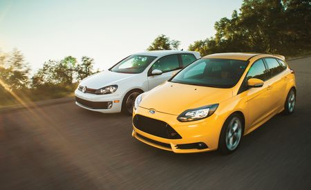 2013 Ford Focus ST vs. 2012 Volkswagen GTI