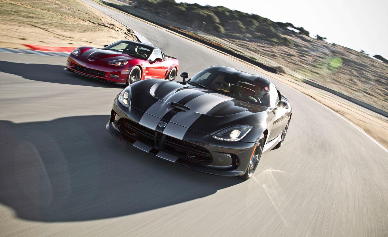2013 SRT Viper GTS vs. 2013 Chevrolet Corvette ZR1
